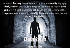 Spreading The Word With Denise&Donna: Dauntless by Anne Malcom Cover Reveal 10/10/16
