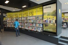 The Retail Revolution @ Your Library Retail Style Displays at *Almere Public Library (NL)