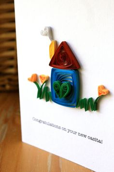 Congratulations on your new home Unique by SweetSpotCardShop