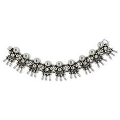 Sterling Silver Bracelet - William Spratling | The Family Jewels Modernist Movement, Family Jewels, Sterling Silver Bracelets, Contemporary, Diamond, Handmade, Mexican, Artists, Jewellery