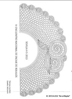 This Pin Was Discovered By All - Diy Crafts - Qoster Col Crochet, Crochet Collar, Thread Crochet, Crochet Stitches, Bobbin Lace Patterns, Embroidery Patterns, Knitting Patterns, Crochet Patterns, Hand Work Blouse Design