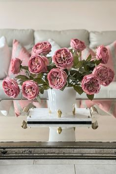 Freshen up any space with a simple floral arrangement! These faux roses are the perfect addition to your home or office space. Shop artificial rose stems at Afloral.com.