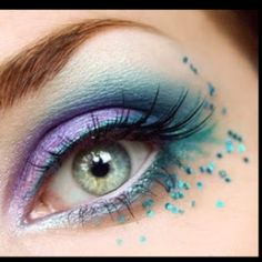 Great eyeshadow idea...LOVE!!!