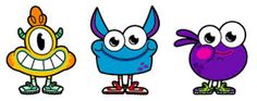 gonoodle monster images - Google Search