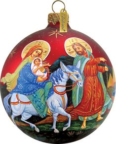 Nativity Ornament; Handcrafted Old World Christmas Limited Edition Gallery Collection for the Tree. (73213) by gdebrekhtgallery. Explore more products on http://gdebrekhtgallery.etsy.com