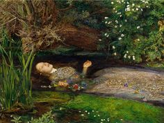 John Everett Millais Ophelia, Ophelia Painting, Framed Art Prints, Poster Prints, Canvas Prints, Posters, Pre Raphaelite Paintings, Renaissance Kunst, Tate Britain