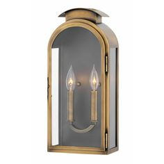 Buy the Hinkley Lighting Light Antique Brass Direct. Shop for the Hinkley Lighting Light Antique Brass Rowley 2 Light Tall Outdoor Wall Sconce and save. Outdoor Wall Lantern, Outdoor Wall Sconce, Outdoor Wall Lighting, Outdoor Walls, Basement Lighting, Exterior Lighting, Candelabra Bulbs, Candle Sconces, Wall Sconces