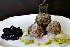 Marcus Samuelsson's Swedish Meatballs Recipe via @lannisam