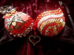 bedazzled bra