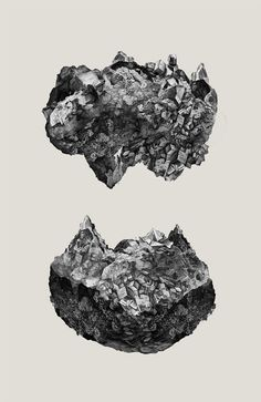 Geodes by StrangeProgram.deviantart.com on @deviantART