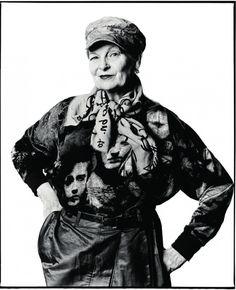 Vivienne Westwood:InspirationOf The Year- Bazaar UK by David Bailey, December 2012