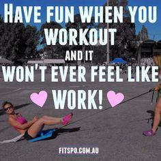 Enjoy the workout & it doesn't feel like work. #livebythebarrecode
