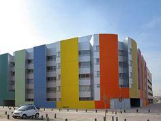 41 social dwellings in Vallecas PAREDES PINO ARQUITECTOS