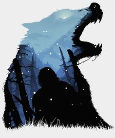 """Jon Snow - King of The North"" Posters by -Shiron- 