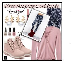 """""""Winter, Rosegal and free shipping ( link for shop in description)"""" by erina-salkic ❤ liked on Polyvore featuring Victoria's Secret, Winter, fashon and rosegal"""