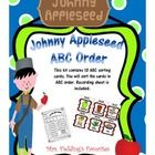 This is a ABC order kit with 13 cards to sort in ABC Order. Recording pages included.     Please check out my complete Johnny Applseed kit at:  Johnny...