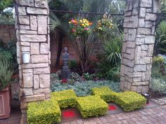 """See 1 tip from visitors to Designer Gardens Landscaping. """"Use Designer Gardens Landscaping to landscape your garden, build you a koi pond, swimming. Concrete Art, Water Features, Garden Landscaping, Pond, Swimming Pools, Garden Design, Sidewalk, Gardens, Ruins"""