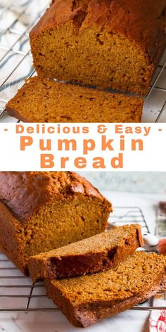 Irish Desserts, Fall Desserts, Delicious Desserts, Yummy Food, Pumpkin Loaf, Pumpkin Carving, Cheese Pumpkin, Pumpkin Cookies, Easy Pumkin Bread