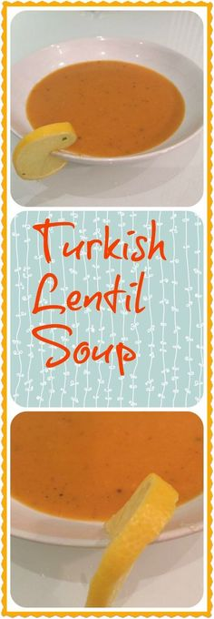 Simple and quick to make, this Turkish lentil soup is nutritious and delicious - great as a quick meal with fresh warm bread, or in a thermos to take to work #soup #lentil #Turkish