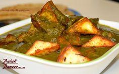 SimplyVeggies: Palak- Paneer Curry (Spinach- Paneer Curry)