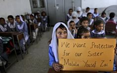 "Pak girls say ""I am Malala"""