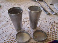 Set-of-2-Cone-of-Sugar-Sugarloaf-Candle-Dessert-Molds-Aluminium-Kulfi-Mould