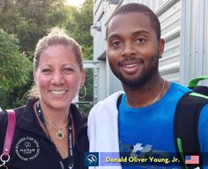 A Rogers Cup Mayfair Team member with American, Donald Oliver Young, Jr. (www.atpworldtour.com/tennis/players/yo/d/donald-young.aspx) #myMayfair