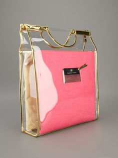 CHARLOTTE OLYMPIA - Clutch rosa e off white. 10