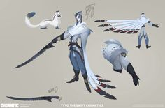 """gorrem: """" Tyto the Swift / Cosmetic Skin Concept art for Gigantic. I hope to put some more work up later. For more info on Gigantic go to www.gogigantic.com! """""""