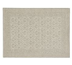 not right size   3 x 5 or 5 x 8 Pottery Barn Braylin Rug     $400