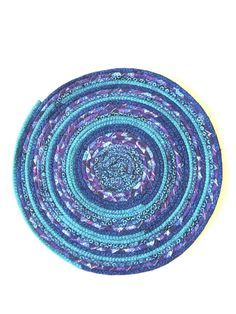 Placemats, table mats, placemat sets, fabric placemats, round placemats, coiled placemats, plant mats, dining table, kitchen table, trivet by KathyTDesigns on Etsy Purple Placemats, Fabric Placemats, Dining Decor, Dining Room, Dining Table, Round Table Mats, Fabric Cards, Custom Mats, Kitchen Tools