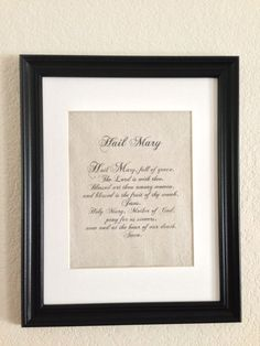 Religious Prayer Canvas Prints Our Father by ElegantCottageStyle, $10.00