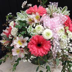 Pretty in pink Flower Arrangements, Petite Fleurs, Arrangement, Flowers, Floral