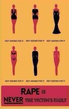 No matter what a woman wears, it isn't an open invitation.