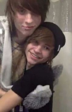Image result for johnnie guilbert and kyle david hall moments