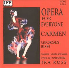 """This website introduces everyone to opera by providing FREE digital downloads of the """"Opera for Everyone"""" series of CDs along with a printable teaching manual! Your family can learn all about four classic operas: Rossini's The Barber of Seville, Verdi's La Traviata, Bizet's Carmen, and Puccini's Madama Butterfly."""