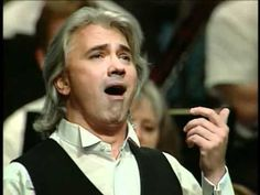 """Il barbiere di siviglia """"Largo al factotum"""" - PUPPET REFERENCE: this is the one we watched in rehearsal for eyebrows/mouth! :) I actually like his singing style a bit more for the SFX I think. Faster pace helps, too. ~V."""