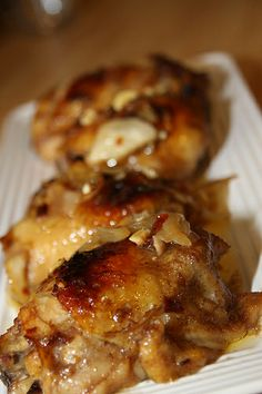 Sweet and Spicy Apple Butter Chipotle Chicken