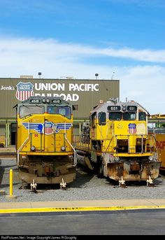 RailPictures.Net Photo: UP 4618, UP 651 Union Pacific EMD SD70M at Little Rock, Arkansas by James R Doughty