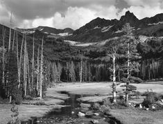 Tower in Lyell Fork (now Mount Ansel Adams), 1938