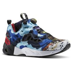 Reebok Instapump Fury Road CC Men's Retro Running Shoes in Black / Solar  Yellow / White