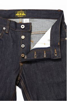 The True Straight 15oz Selvage