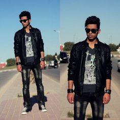 WAY BACK (by Hamza El) http://lookbook.nu/look/3416433-WAY-BACK