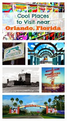 Places to Visit Near Orlando, Florida whilst you are staying at Orlando Travel, Orlando Vacation, Florida Vacation, Florida Travel, Vacation Spots, Travel Usa, Vacation Places, Vacation Ideas, Vacation Checklist