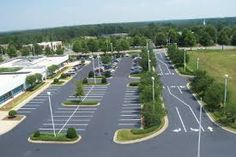 parking lot design presented by Prema stripe of Central Florida Landscape Design Plans, Landscape Concept, Landscape Architecture, Car Park Design, Parking Design, Country Landscaping, Modern Landscaping, Landscaping Tips, Parking Plan