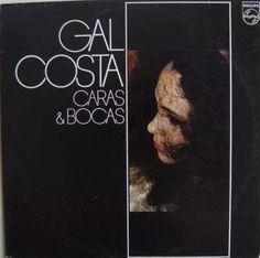 Gal Costa - Caras E Bocas [lp]  - R$ 30,00