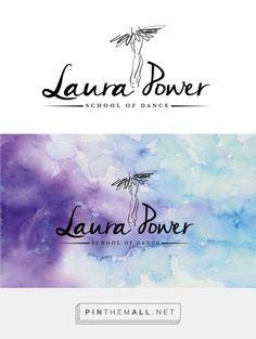 efz Creative Design | Laura Power School of Dance logo design - created via https://pinthemall.net