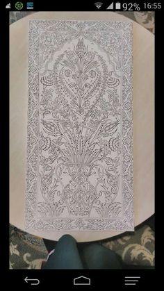 Turkish Design, Turkish Art, Islamic Tiles, Islamic Art, Victor Design, Ottoman Design, Persian Motifs, Madhubani Painting, Craft Work