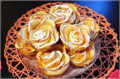 Rubella apple in puff pastry Snack Recipes, Snacks, Sweet Bread, Donuts, Chips, Apple, Breakfast, Lab, Breads
