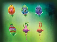 Vector Flower Icons: http://www.vecteezy.com/vector-icons/2122-vector-flower-icons